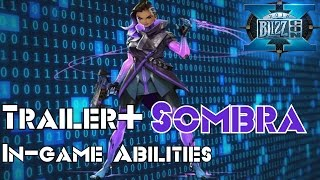 Overwatch Sombra Trailer Reaction + In-game Abilities