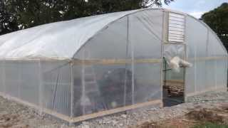 okieTV: DIY Hydroponic Greenhouse Ep. 01 - Double Wall Insulation, Swamp Cooler, & Wiggle Wire