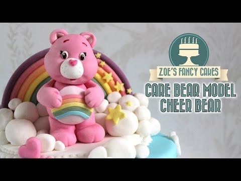 Cheer bear cake model: Care Bear cakes