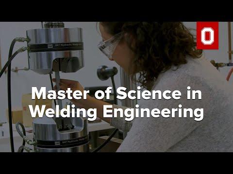 Master of Science in Welding Engineering