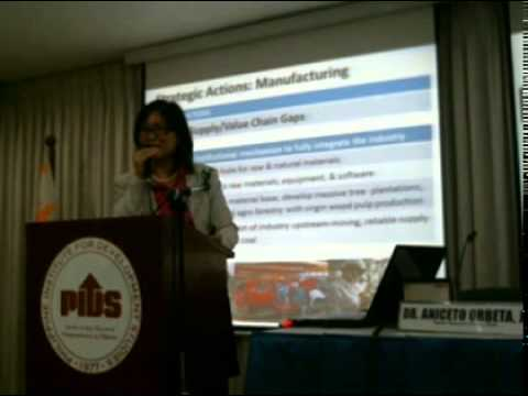 Philippine Manufacturing Industry Roadmap by Dr. Rafaelita M. Aldaba, DTI