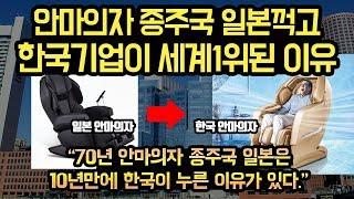 안마의자 종주국 일본을 꺽고, 한국기업