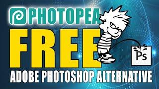 Is PhotoPea The Bęst FREE Adobe Photoshop Alternative?