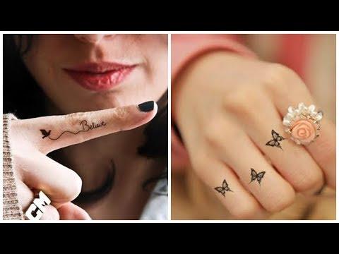 finger tattoos inner cool