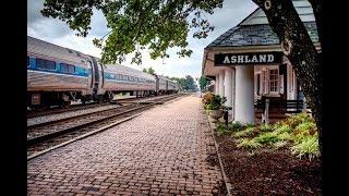 Railfanning At: Ashland, VA [4K]