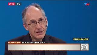 El Editor De Charlie Hebdo En 'El Juego Limpio'