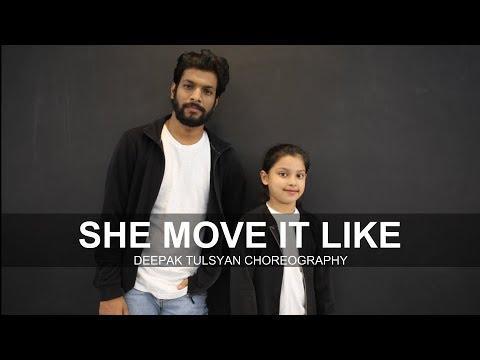 She Move It Like | Badshah | Deepak Tulsyan Choreography