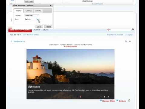Live Rotator - Working w/Themes | DotNetNuke Module | Mandeeps.com