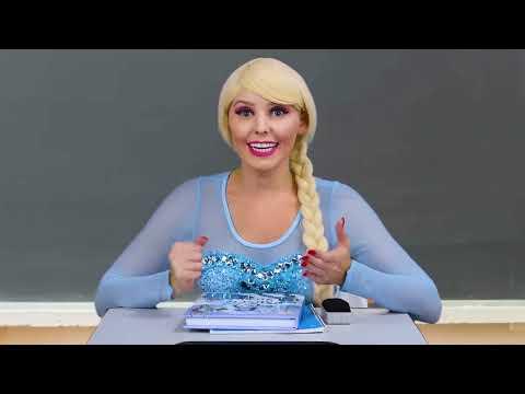 DISNEY PRINCESSES MAGIC ERASER. (With Tiana, Jasmine, Rapunzel, Belle, Elsa and Anna) Totally TV