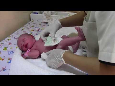 Первое купание новорожденного/роддом в Бейруте/роды в Ливане