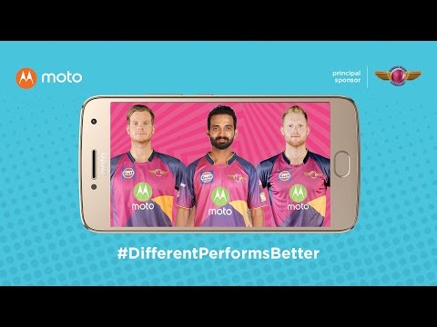 different performs better with moto & the Rising Pune Supergiant team