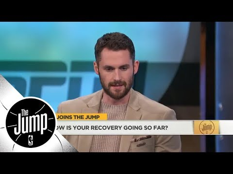 Kevin Love gives injury update and reacts to new-look Cavaliers | The Jump | ESPN
