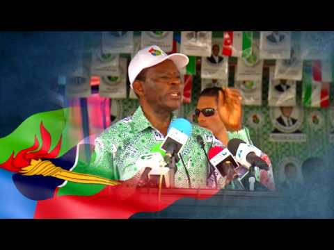 Obiang Nguema Mbasogo Candidato del Pueblo