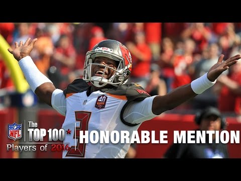 Honorable Mention: Jameis Winston (QB, Buccaneers) | Top 100 Players of 2016