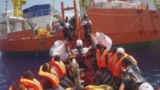 El Aquarius pondrá rumbo a Malta tras días de bloqueo en el Mediterráneo