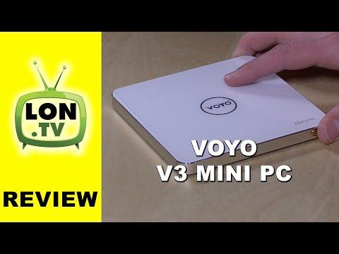 VOYO V3 Windows 10 Mini-PC Review -  Intel Cherry Trail X7-Z8700 - 4GB RAM - 128GB SSD