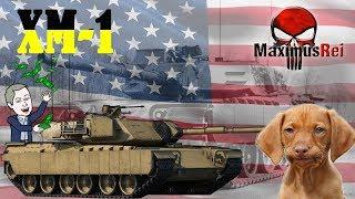 """War Thunder - XM-1 """"Uma Linda Bosta!"""" [PT-BR]"""