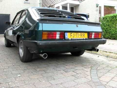 New Sportex Exhaust Ford Capri Youtube