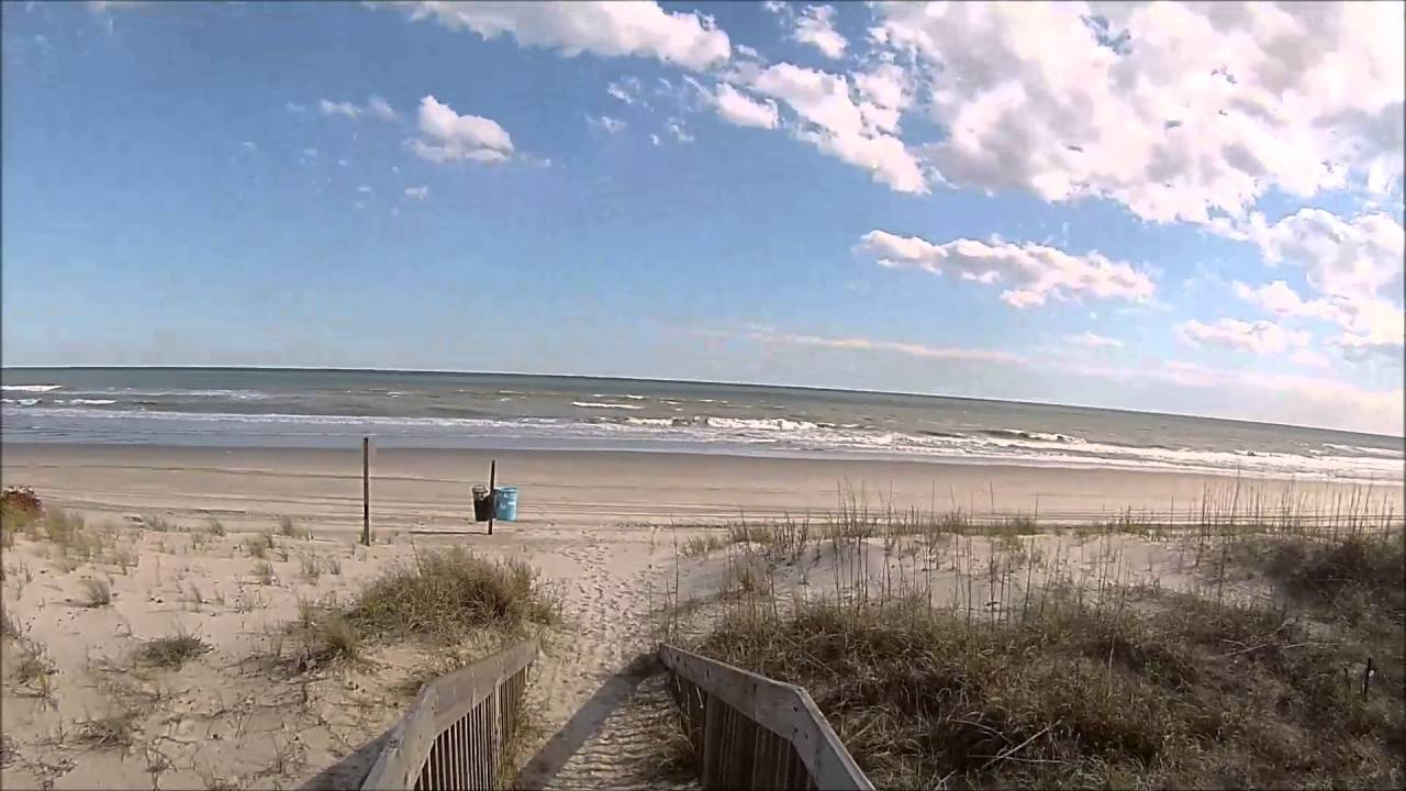 Emerald Isle Beach North Carolina A Walk Out On The Access Eagles Nest Rd April 8 2016