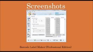 Free Bar Code Barcodes Barcode Label Maker Generator Creator Designer Designing Software Tool