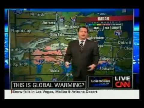 CNN Meteorologist Chad Myers on 'Global Warming'