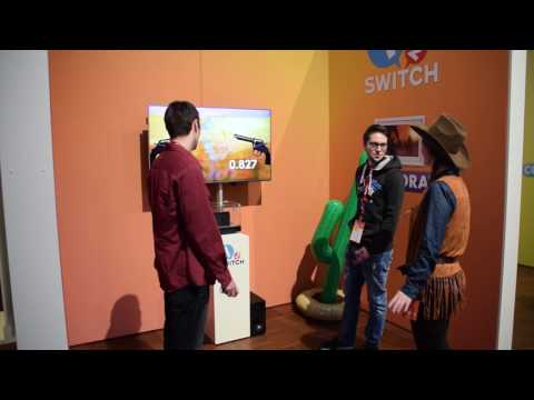 Let's Play 1-2-SWITCH • Quick Draw ★ Nintendo Switch Presse-Event 13.01.2017
