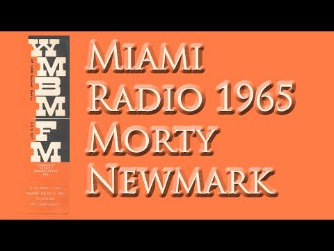 MIAMI RADIO 1960'S, WMBM AM 1490 AND FM 93.9 MORTY NEWMARK COCA COLA DANCE PARTY
