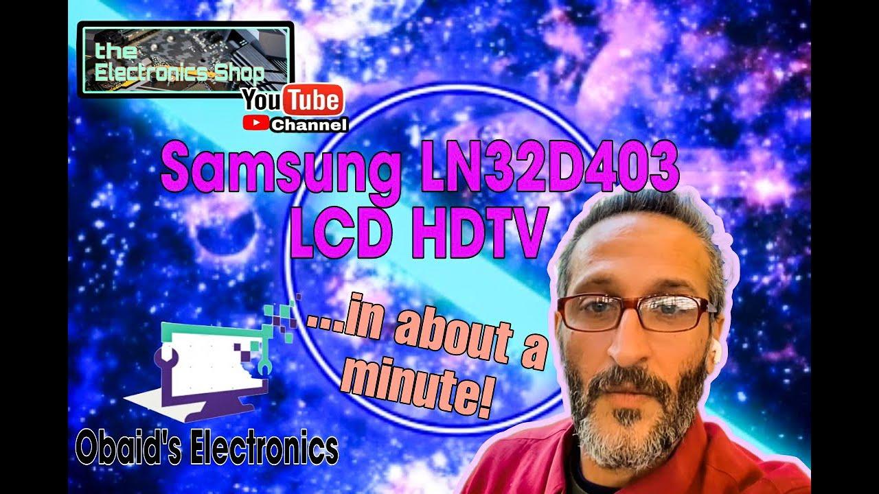 Maxresdefault on Samsung Lcd Tv Parts