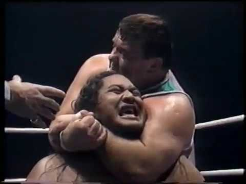 Otto Wanz vs. Yokozuna (1988-12-17) Full Match [HQ]