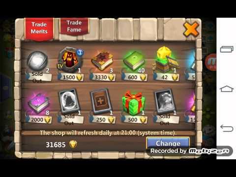 Castle Clash: Lvl Up PD Talent To 7/8 Berserk