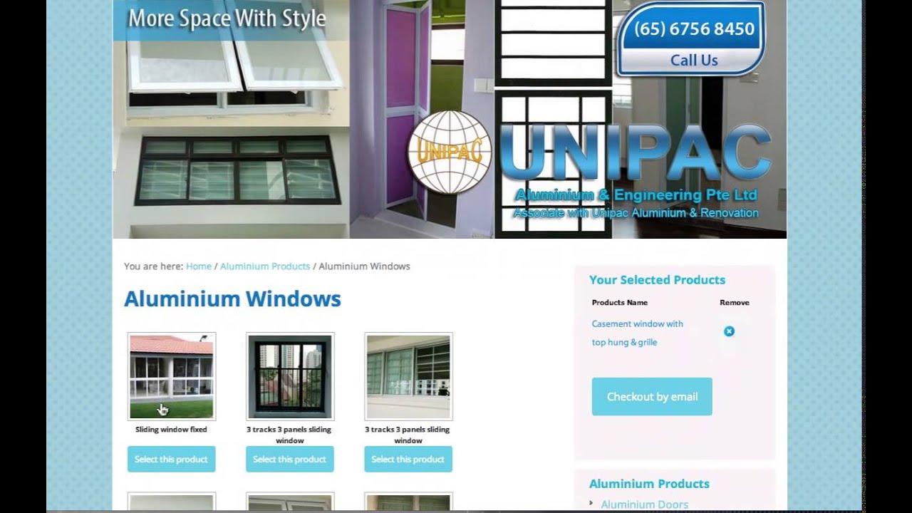 Ordinaire Singapore Aluminium Windows And Doors Company   YouTube