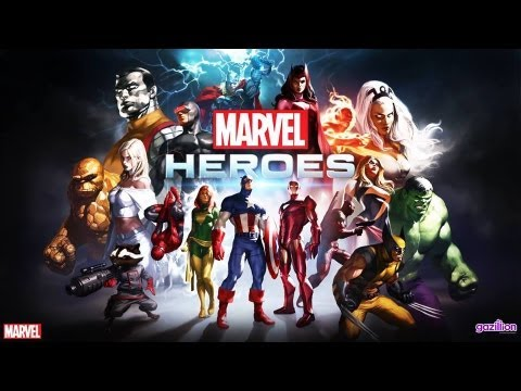 "Official Cinematic Trailer: Marvel Heroes ""Marvel Origins"""