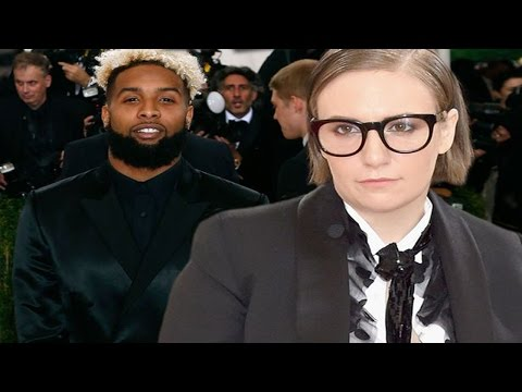 Lena Dunham Has A Tantrum After Odell Beckham Jr Didn't Acknowledge Her