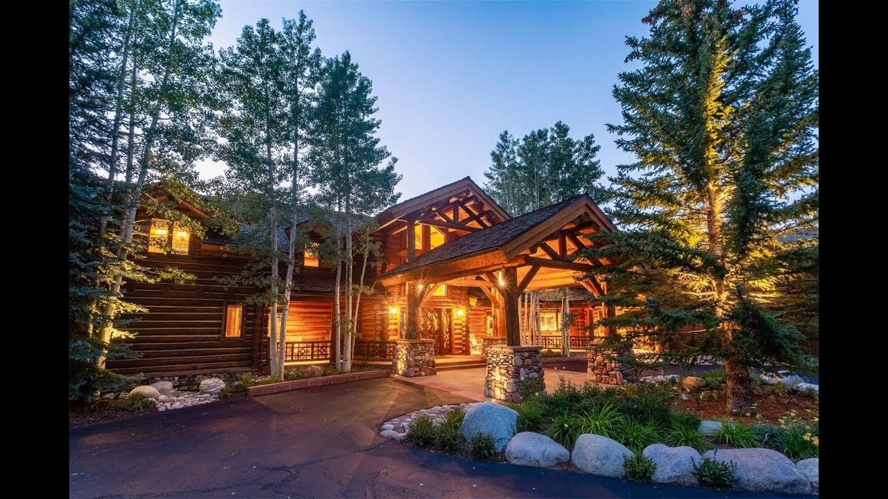Stately Mountain Lodge in Aspen, Colorado | Sotheby's International Realty  - YouTube