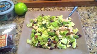 Fruity Chicken Gorgonzola Salad (yum!!!!)