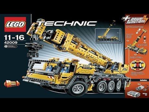 Lego Technic Instruction For 42009 Mobile Crane Mk Ii New
