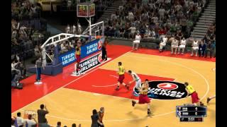 NBA 2K14 Gameplay PC | Real Madrid vs FC Barcelona | First Quarter/Primer Cuarto