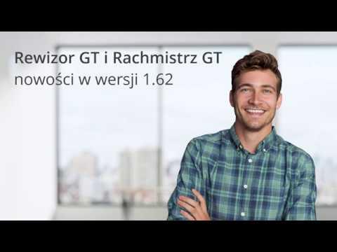 Rewizor i Rachmistrz GT - nowości w wersji 1.62