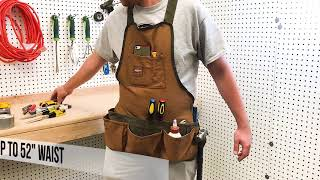 Best Bucket Boss Bucket Boss 80200 Duckwear SuperBib Apron