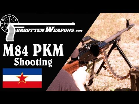 Shooting the Yugoslav M84 PKM: Arguably the Best GPMG