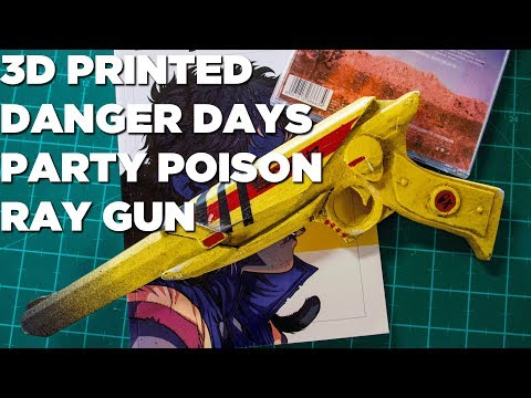 3D Printed Blaster - Party Poison From Danger Days