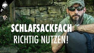 RUCKSACK PACKFEHLER !?! Schlafsackfach besser nutzen – Richtig Packen für Wandern, Trekking, Outdoor