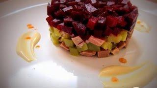 Салат с говядиной и свеклой  Пошаговый рецепт с фото