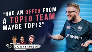 smooya talks top team offer, experience w/ 100T, TIGER situation, burnout | HLTV Confirmed S4E21