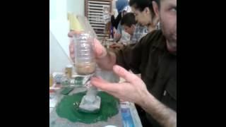 İbrahim Sami Özen'den doğal ebru boyası yapımı vol