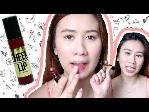 My HOLYGRAIL makeup product! KJM lip & cheek tint REVIEW | Chinkytita