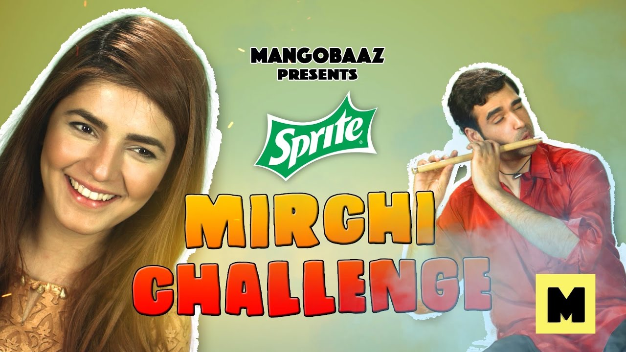 Spice Challenge (ft. Momina Mustehsan) | MangoBaaz
