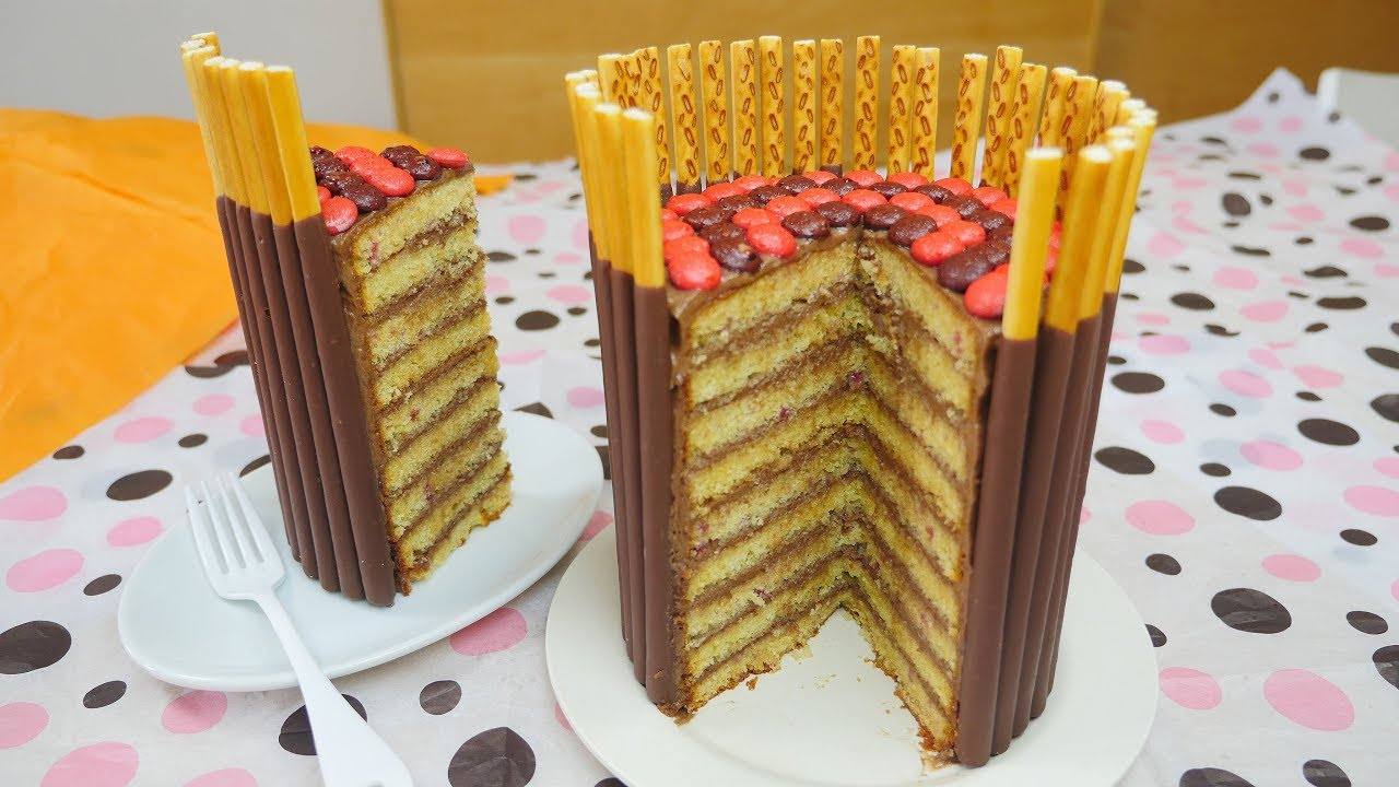 Pocky Cake Youtube