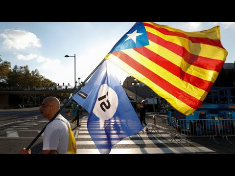 Catalonia's long fight for independence; Scots vote NAE to independence - Compilation