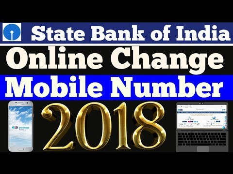 How to Change/Update Mobile Number in SBI Account Online | ( Without Visiting Branch)